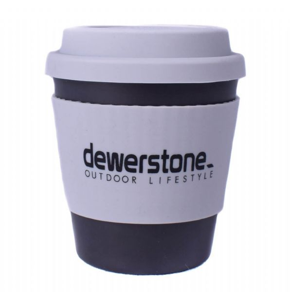 Dewerstone Bamboo Reusable Biodegradable Coffee Cup